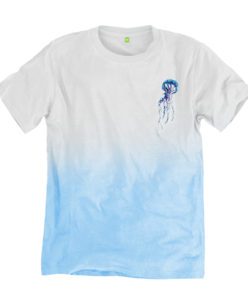 trisoupia tee front blue fade