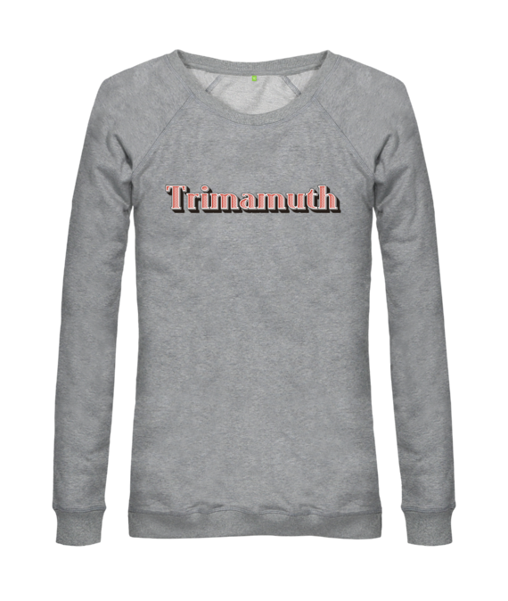 womens jumper trimamuth text