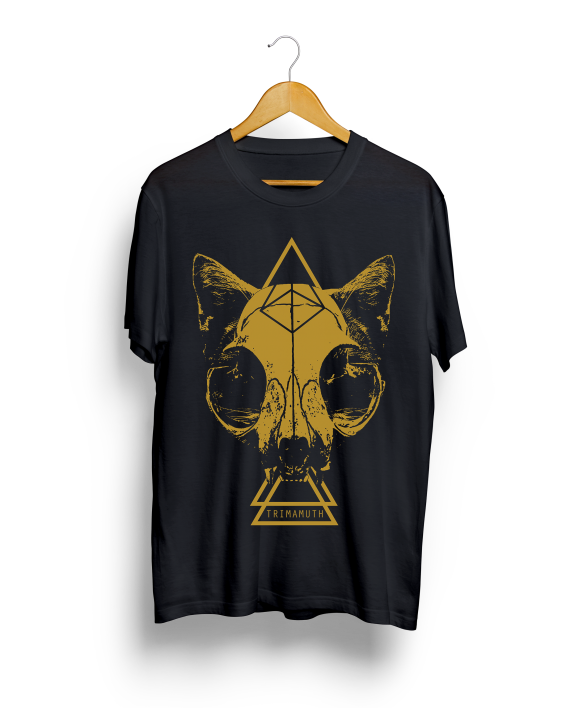 Catastrophy Hanging tee gold
