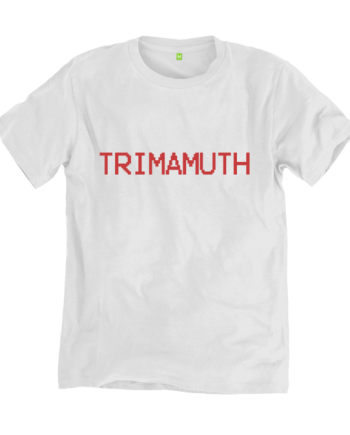 Trimamuth Simple Red White T-shirt