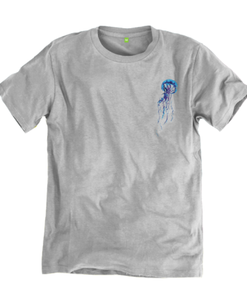 trisoupia tee front grey