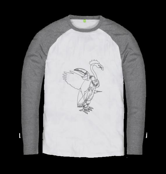 aves gray long sleeve tshirt