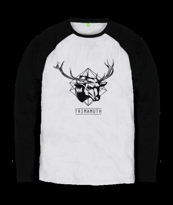 deerbull black long sleeve tshirt