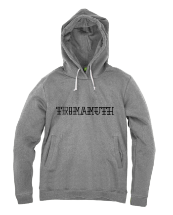 gray aves front hoodie