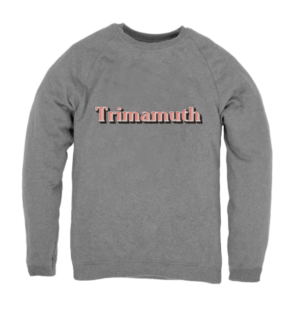 mens jumper trimamuth text